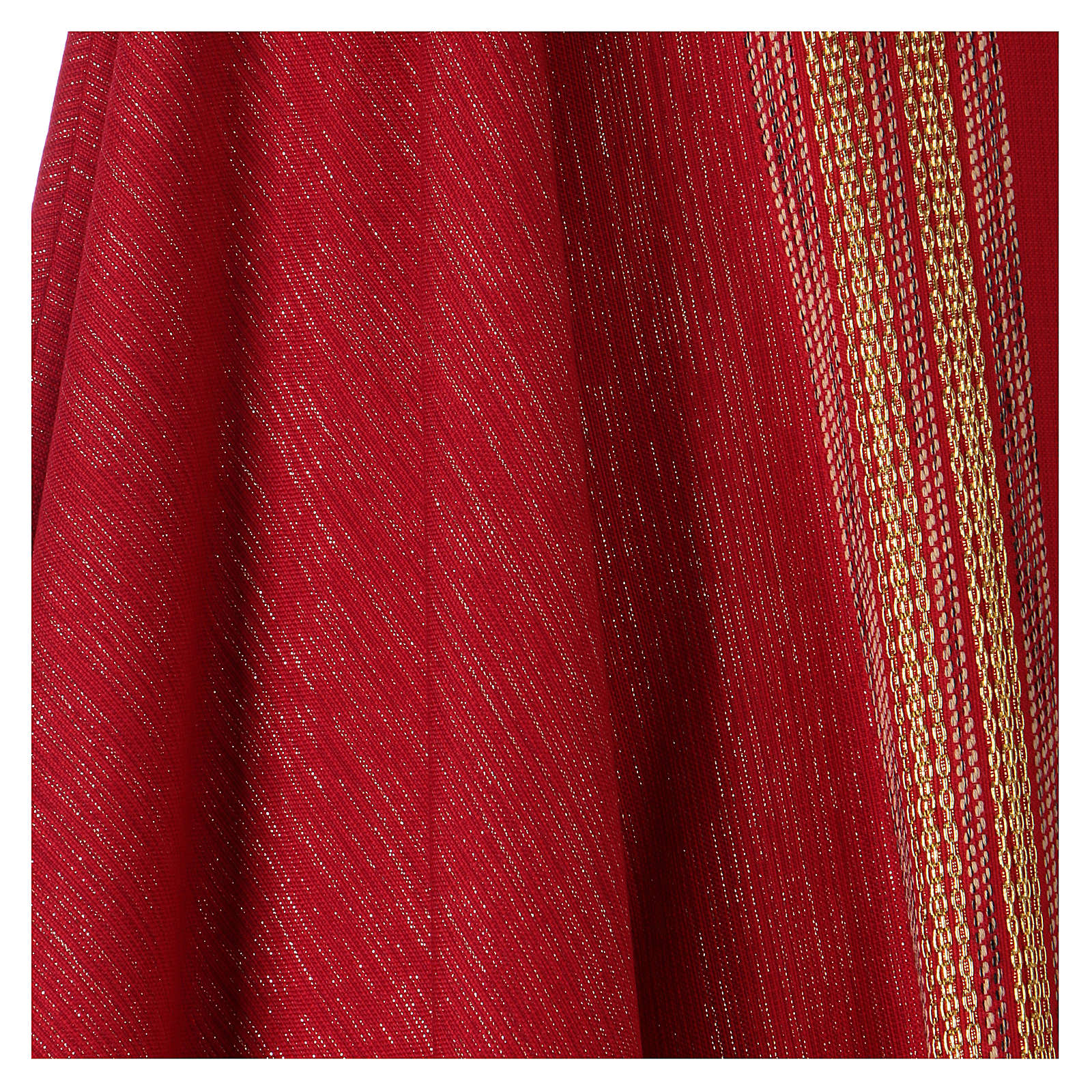 Casula lavorata su un tessuto di lana lurex 4