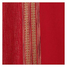 Casula lavorata su un tessuto di lana lurex s2