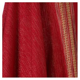 Casula lavorata su un tessuto di lana lurex s4