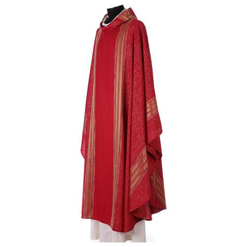 Casula lavorata su un tessuto di lana lurex 3