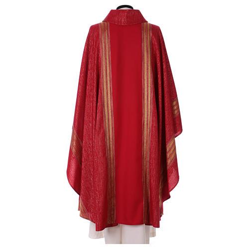 Casula lavorata su un tessuto di lana lurex 5