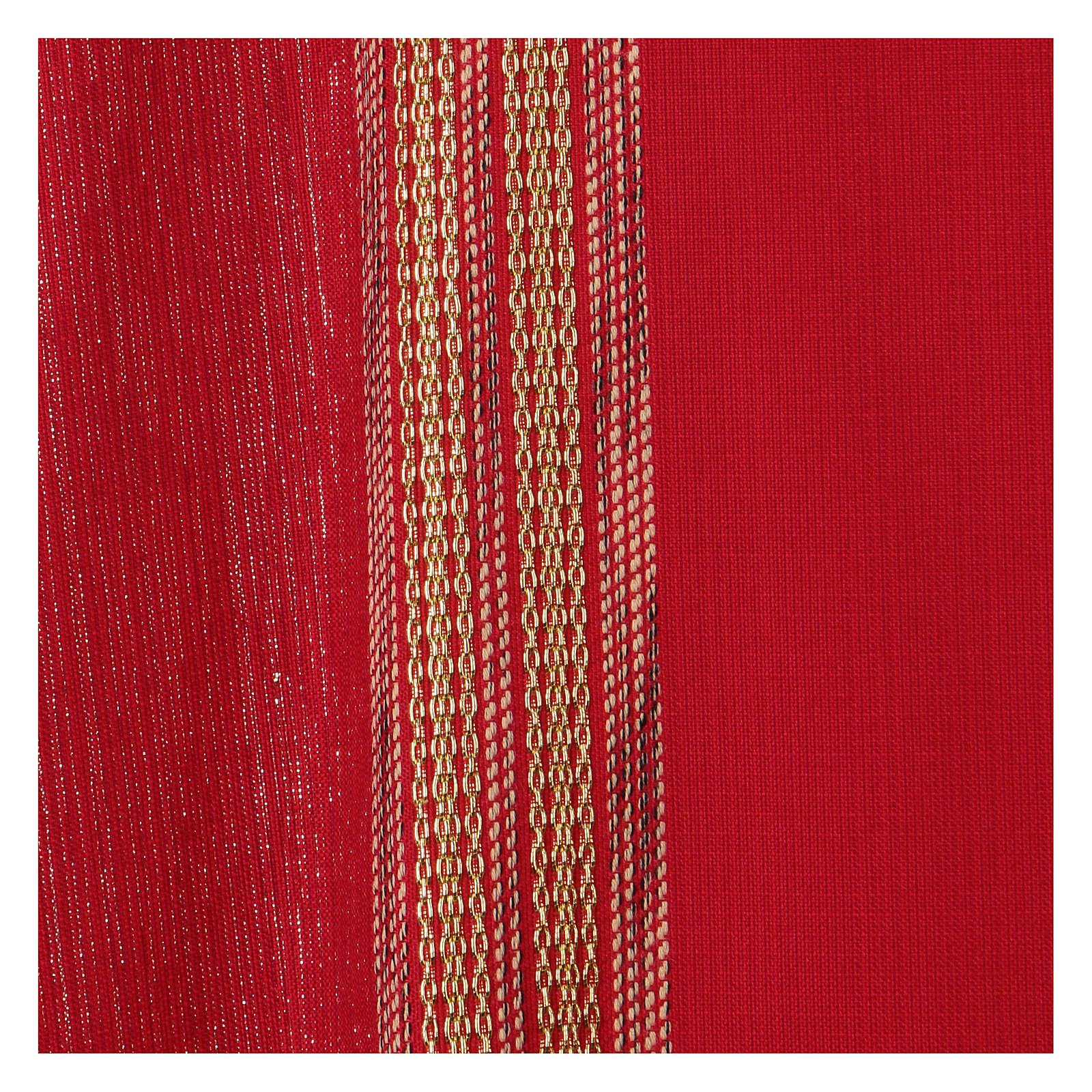 Casula Lã e Lurex Bandas Verticais 4