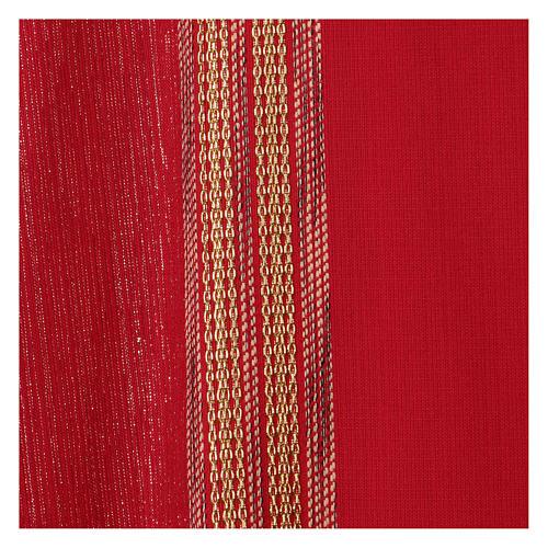 Casula Lã e Lurex Bandas Verticais 2