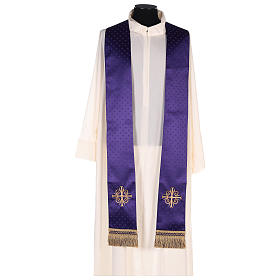 Chasuble in wool with embroidered gallon s8