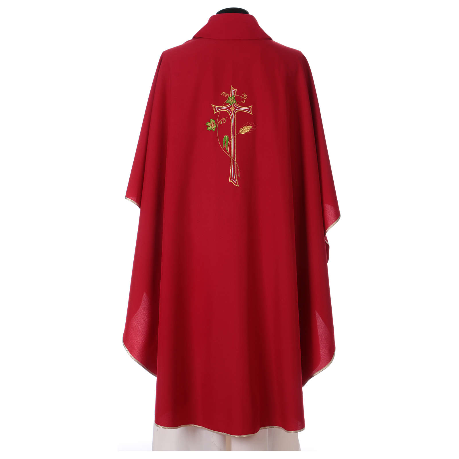 Gothic Chasuble with Cross in polyester  4
