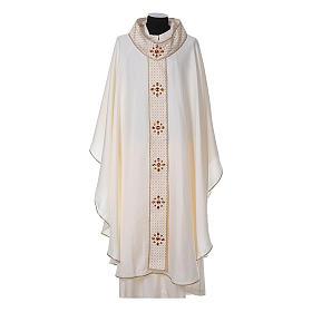 Chasuble and stole, Italian neckline s5