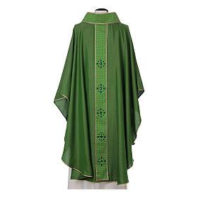 Chasuble and stole, Italian neckline s7