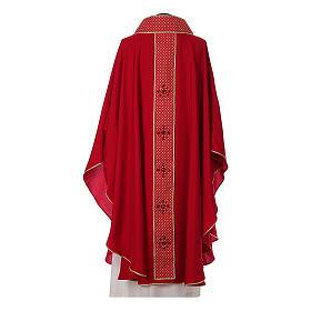 Chasuble and stole, Italian neckline s8