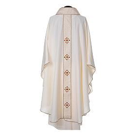 Chasuble and stole, Italian neckline s9
