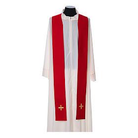 Chasuble and stole, Italian neckline s12