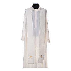 Chasuble and stole, Italian neckline s13