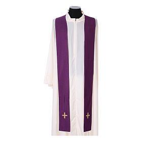 Chasuble and stole, Italian neckline s14
