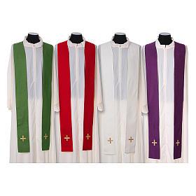 Chasuble and stole, Italian neckline s15