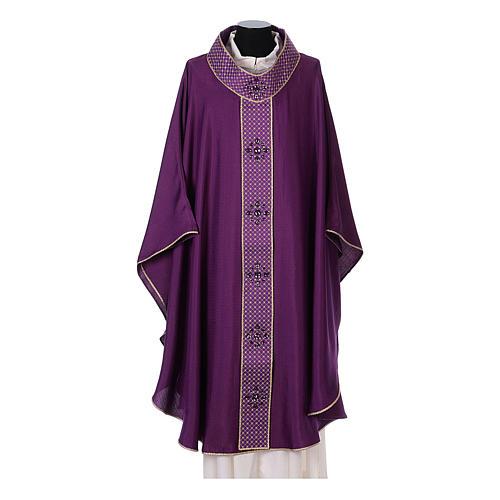Chasuble and stole, Italian neckline 6