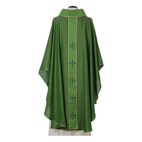 Chasuble and stole, Italian neckline 7