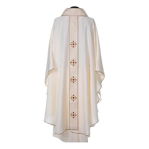 Chasuble and stole, Italian neckline 9