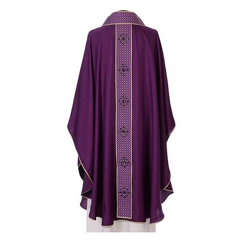 Chasuble and stole, Italian neckline 10