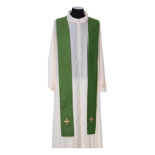 Chasuble and stole, Italian neckline 11