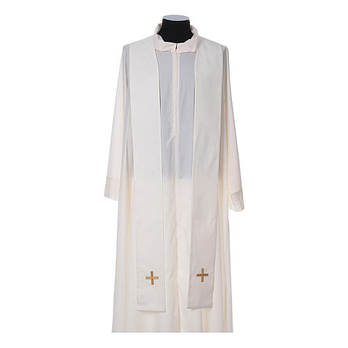 Chasuble and stole, Italian neckline 13