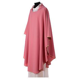 Casulla poliéster rosa s2
