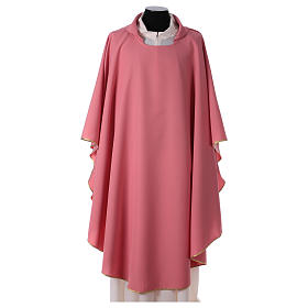 Chasuble polyester rose s1