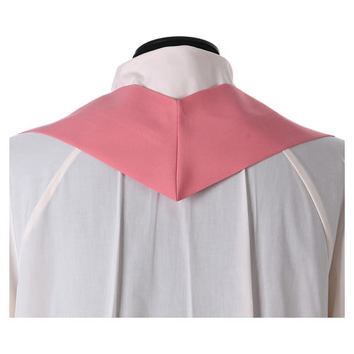 Chasuble polyester rose 5
