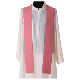 Pink chasuble in polyester s4