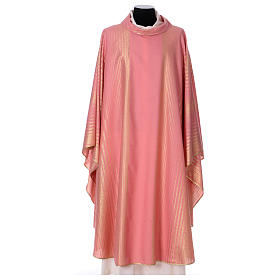 Casula cor-de-rosa lã e lurex  s1