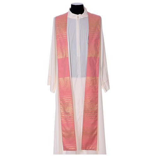 Casula cor-de-rosa lã e lurex  6