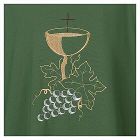 Casula calice e grappolo d'uva 100% poliestere