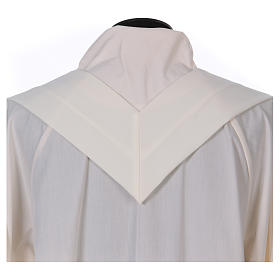 Chasuble brodée symbole marial 100% polyester s7