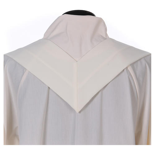 Chasuble brodée symbole marial 100% polyester 7