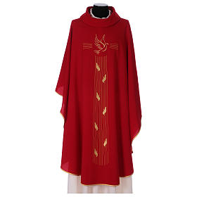 Casula poliestere simbolo Spirito Santo