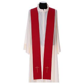 Casula colomba e fiamma Spirito Santo in poliestere s6