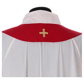 Casula colomba e fiamma Spirito Santo in poliestere s8