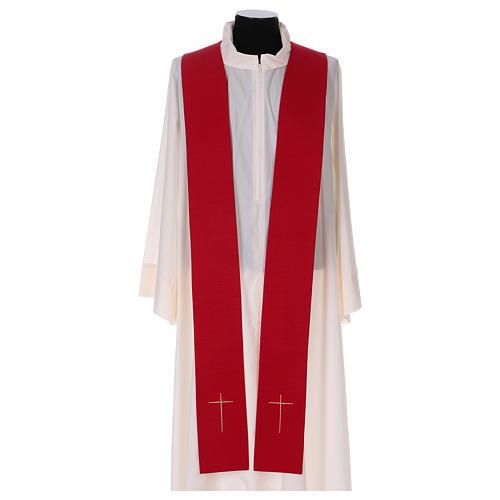 Casula colomba e fiamma Spirito Santo in poliestere 6