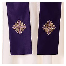 Casula poliestere e decorazione croce e pietre Limited Edition s5