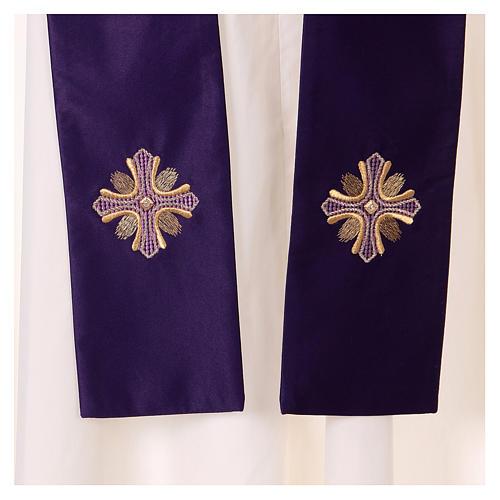 Casula poliestere e decorazione croce e pietre Limited Edition 5