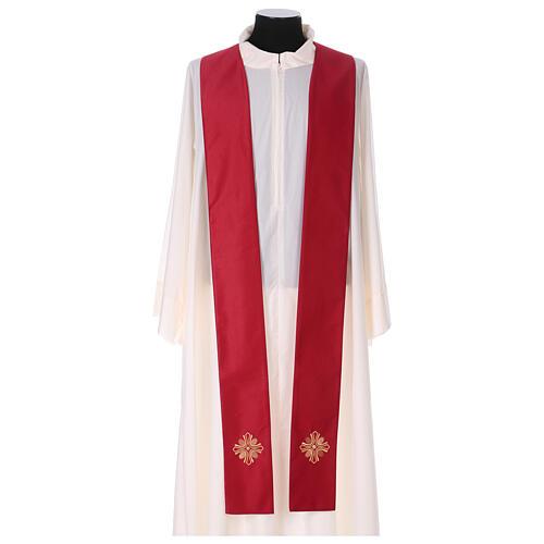Casula poliestere e decorazione croce e pietre Limited Edition 10