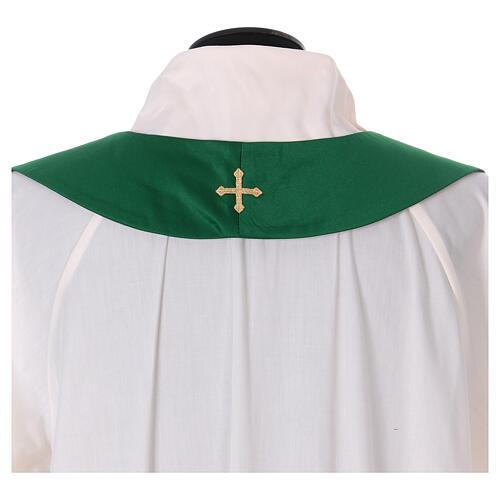 Casula poliestere e decorazione croce e pietre Limited Edition 12