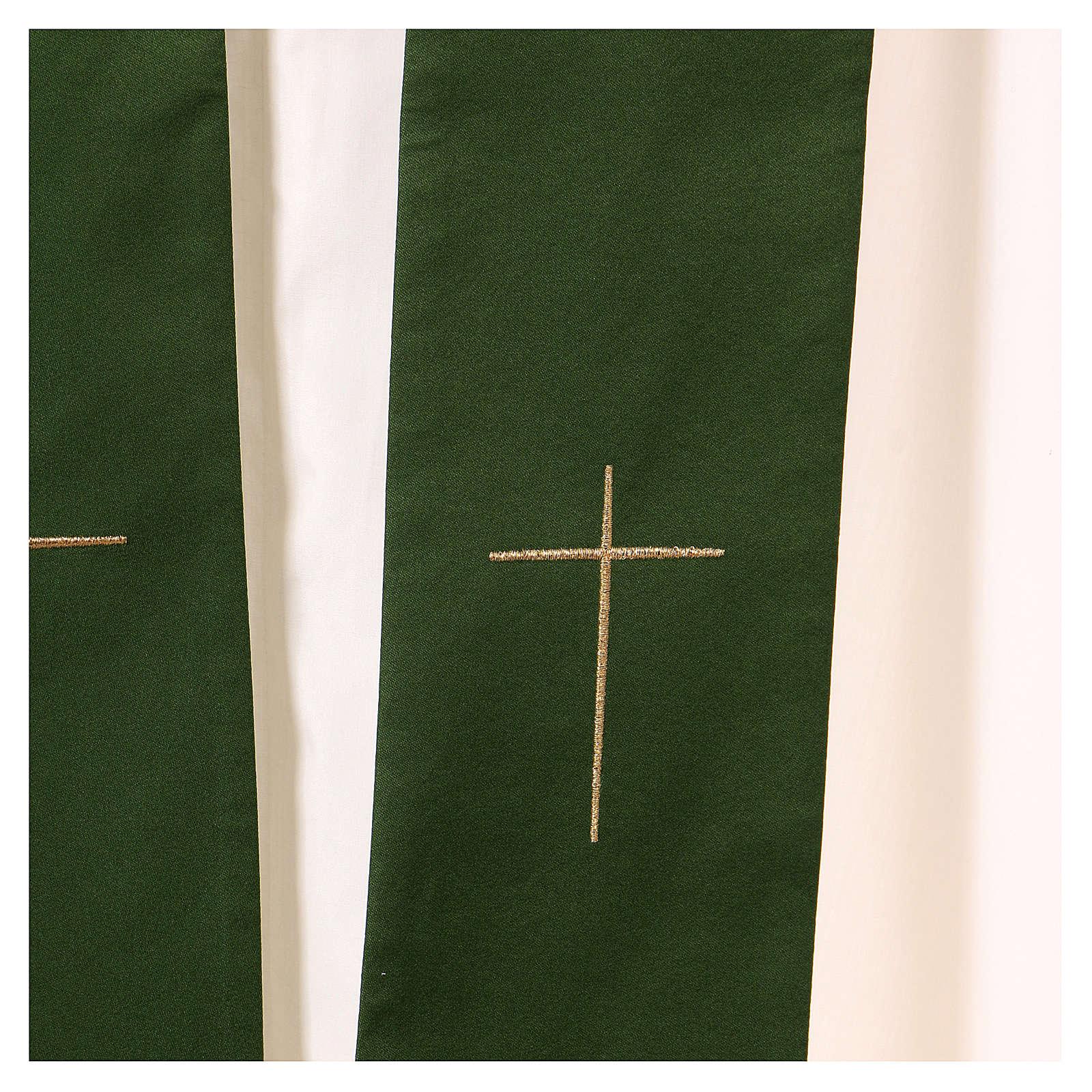 Casula decorazioni dorate 100% poliestere 4
