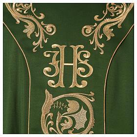 Casula decorazioni dorate 100% poliestere