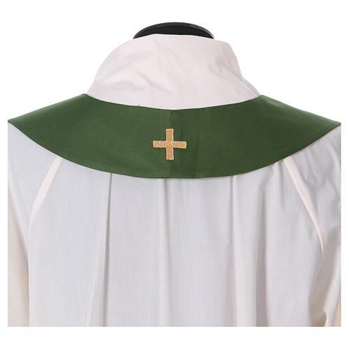 Casula decorazioni dorate 100% poliestere 8