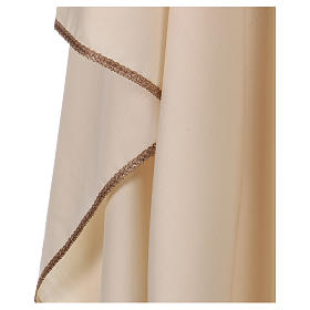 Casula collo rigido a V 100% lana s4