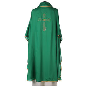 Chasuble 100% polyester 4 colors IHS cross rays s4