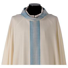 Casula Mariana striscia collo con righe 97% lana 3% lurex s2
