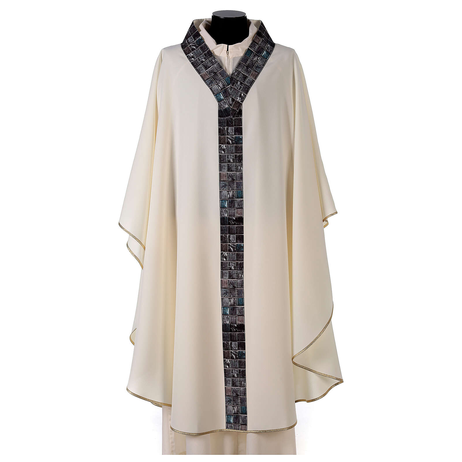 Chasuble with sublimation print V neck 100% polyester 4