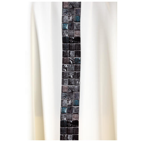 Chasuble with sublimation print V neck 100% polyester 6