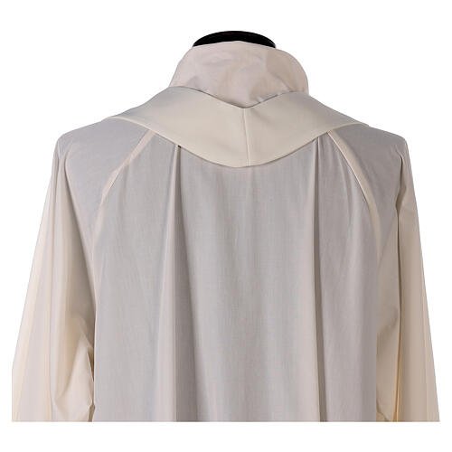 Chasuble with sublimation print V neck 100% polyester 9