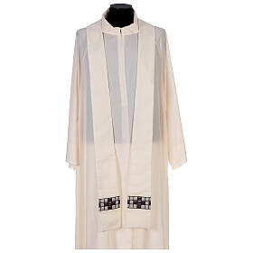 Chasuble with sublimation print T-shape 100% polyester s6